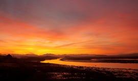 Sunrise at Four Mile Bridg Royalty Free Stock Photo