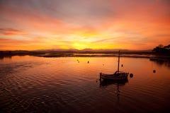 Sunrise at Four Mile Bridge Royalty Free Stock Images
