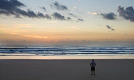 Sunrise on Fraser Island, Queensland, Austral Stock Photo