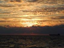 Sunrise - Ft. Lauderdale. Ft. Lauderdale Beach Early Morning Sunrise Royalty Free Stock Photography