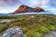 Sunrise at Glencoe Royalty Free Stock Image