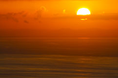 Sunrise glow of ocean. Landscape series    Sunrise glow of ocean. This image was taken in japan Stock Images