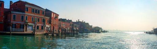 Grand Canal, Murano, Italy. Sunrise Royalty Free Stock Photo