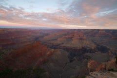 Sunrise at the Grand Canyon Royalty Free Stock Photos