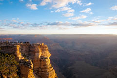 Sunrise in Grand Canyon, Arizona, USA Royalty Free Stock Photos