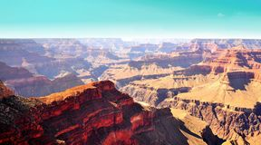 Sunrise in Grand Canyon National Park USA Royalty Free Stock Image