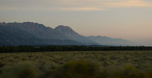 Sunrise at Grand Teton National park Royalty Free Stock Photo