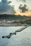 Sunrise in Grenada, Caribbean Royalty Free Stock Images