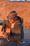 Sunrise Guitar Royalty Free Stock Image