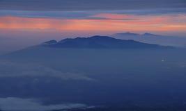 Sunrise at Haleakala, Maui, Hawaii Royalty Free Stock Image