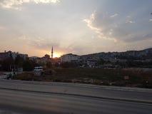 Sunrise. Hatay turkiye Royalty Free Stock Photography