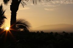 Sunrise Hawaii Mauna Kea Royalty Free Stock Images