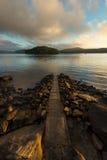 Sunrise from Hawsbury river, NSW Royalty Free Stock Photo