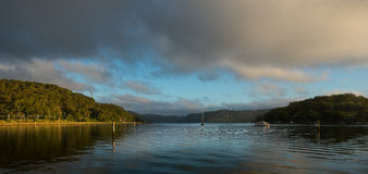 Sunrise from Hawsbury river, NSW Royalty Free Stock Images