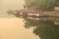 The sunrise in Heilongtan reservoir, chengdu,china Stock Photo
