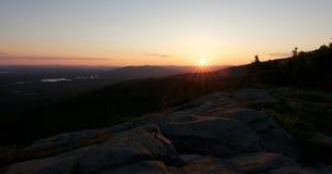 Sunrise Hills Stones Royalty Free Stock Photo