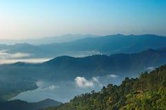 Sunrise in Himalaya Stock Photos