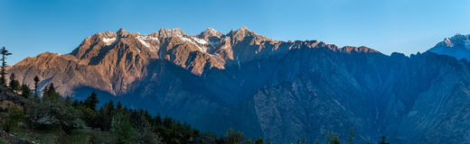 Sunrise Himalayas Stock Images