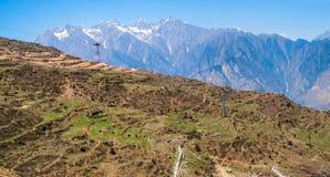 Sunrise, Himalayas Stock Images
