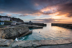 Sunrise at historic Charlestown Royalty Free Stock Photography