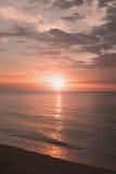 Sunrise from Horizon, Thailand. Sunrise from Horizon and reflex, Thailand Royalty Free Stock Images