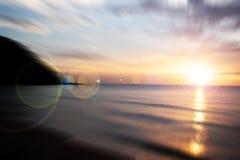 Sunrise from Horizon, Thailand. Sunrise from Horizon and reflex, Thailand Stock Photography