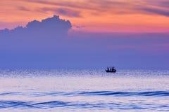 Sunrise at Hua Hin Thailand Royalty Free Stock Photography