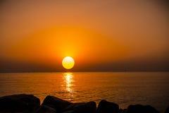 Sunrise in Hurghada/Makadi Bay Stock Photo