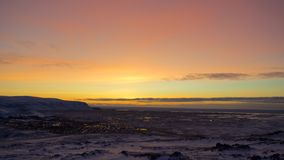 Sunrise in Iceland Royalty Free Stock Photo