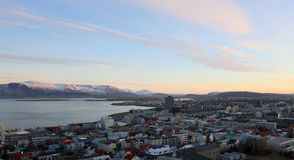 Sunrise in Iceland Stock Photography
