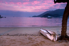 Sunrise on Ilha Grande, Brazil Stock Photos