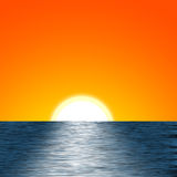 Sunrise Illustration Royalty Free Stock Image