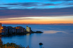 Sunrise In A Corsican Landscape Royalty Free Stock Photography