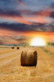 Sunrise In Countryside Stock Photos