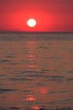 Sunrise In Greece Stock Photo