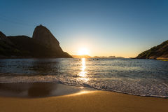 Sunrise In The Beach Royalty Free Stock Photo