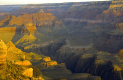 Sunrise In The Grand Canyon Stock Photo
