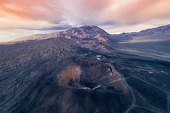 Free Sunrise In Ubehebe Crater. Death Valley., California Royalty Free Stock Images - 147103249