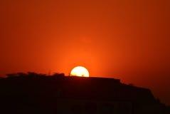 Sunrise in India Royalty Free Stock Photos