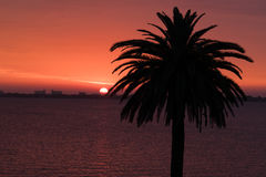 Sunrise on the Indian River Lagoon Stock Photos
