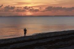 Sunrise - Inhassoro - Mozambique Royalty Free Stock Image