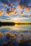 Sunrise on the inlets Royalty Free Stock Photography