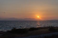 Sunrise on the Island Stock Image