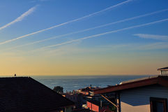 Sunrise of Istanbul. This image was taken in Istanbul, Turkey Stock Photography