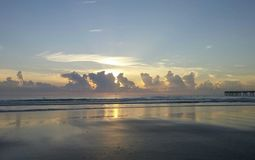 Sunrise of Jacksonville stock photography