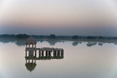 Sunrise in Jaisalmer Royalty Free Stock Photos