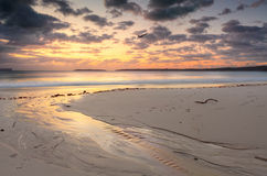 Sunrise Jervis Bay Australia Stock Photography