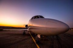 Sunrise jet Stock Images