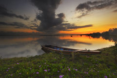 Sunrise Jubakar Tumpat Royalty Free Stock Photography