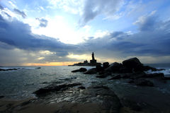 Sunrise at Kanyakumari Royalty Free Stock Photo